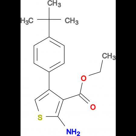 ethyl 2-amino-4-(4-tert-butylphenyl)thiophene-3-carboxylate