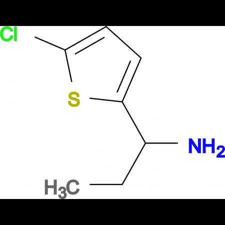 1-(5-chlorothien-2-yl)propan-1-amine