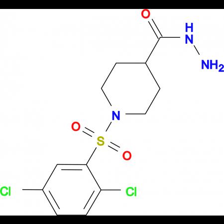 1-[(2,5-dichlorophenyl)sulfonyl]piperidine-4-carbohydrazide