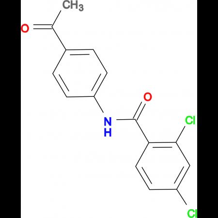 N-(4-acetylphenyl)-2,4-dichlorobenzamide