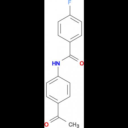 N-(4-acetylphenyl)-4-fluorobenzamide