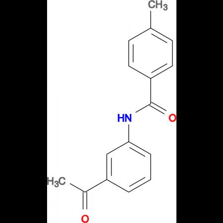 N-(3-acetylphenyl)-4-methylbenzamide