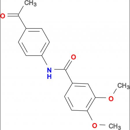 N-(4-acetylphenyl)-3,4-dimethoxybenzamide