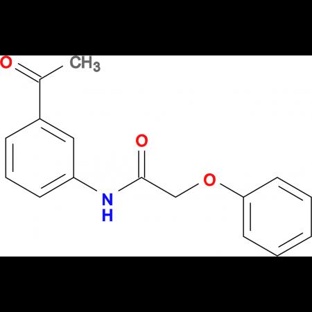N-(3-acetylphenyl)-2-phenoxyacetamide