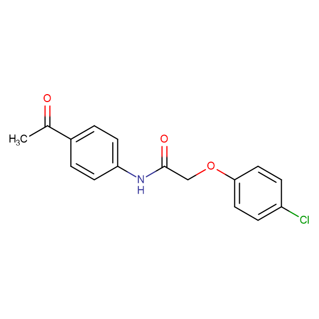 N-(4-acetylphenyl)-2-(4-chlorophenoxy)acetamide
