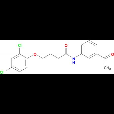 N-(3-acetylphenyl)-4-(2,4-dichlorophenoxy)butanamide