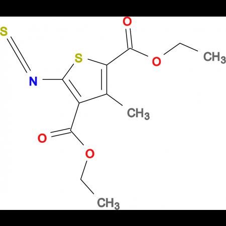 diethyl 5-isothiocyanato-3-methylthiophene-2,4-dicarboxylate