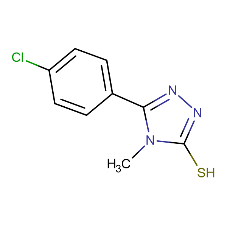 5-(4-chlorophenyl)-4-methyl-4H-1,2,4-triazole-3-thiol
