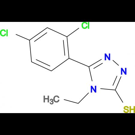 5-(2,4-dichlorophenyl)-4-ethyl-4H-1,2,4-triazole-3-thiol