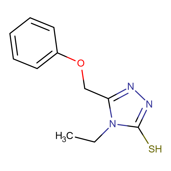 4-ethyl-5-(phenoxymethyl)-4H-1,2,4-triazole-3-thiol