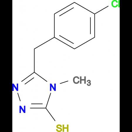 5-(4-chlorobenzyl)-4-methyl-4H-1,2,4-triazole-3-thiol