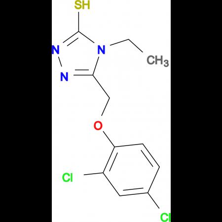 5-[(2,4-dichlorophenoxy)methyl]-4-ethyl-4H-1,2,4-triazole-3-thiol