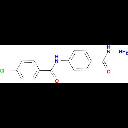 4-chloro-N-[4-(hydrazinocarbonyl)phenyl]benzamide