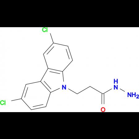 3-(3,6-dichloro-9H-carbazol-9-yl)propanohydrazide