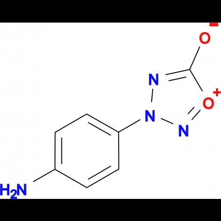 3-(4-aminophenyl)-1,2,3,4-oxatriazol-3-ium-5-olate