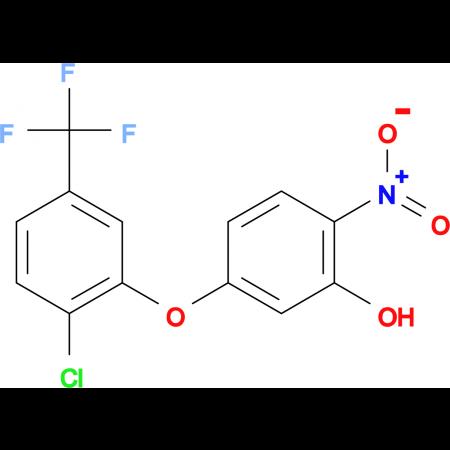 5-[2-chloro-5-(trifluoromethyl)phenoxy]-2-nitrophenol