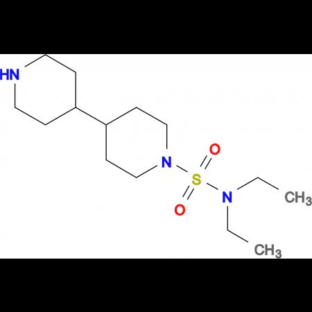 N,N-diethyl-4,4'-bipiperidine-1-sulfonamide