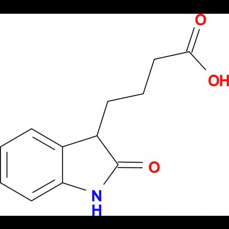 4-(2-oxo-2,3-dihydro-1H-indol-3-yl)butanoic acid