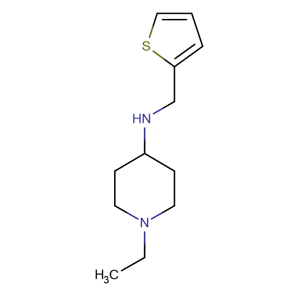 1-ethyl-N-(thien-2-ylmethyl)piperidin-4-amine