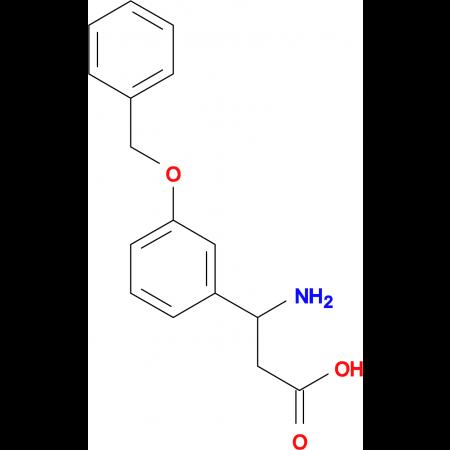 3-amino-3-[3-(benzyloxy)phenyl]propanoic acid