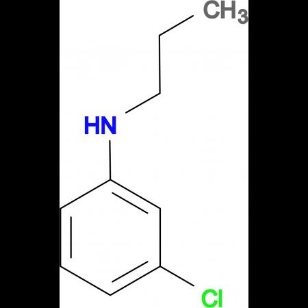 N-(3-chlorophenyl)-N-propylamine