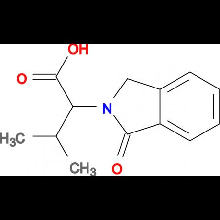 3-methyl-2-(1-oxo-1,3-dihydro-2H-isoindol-2-yl)butanoic acid