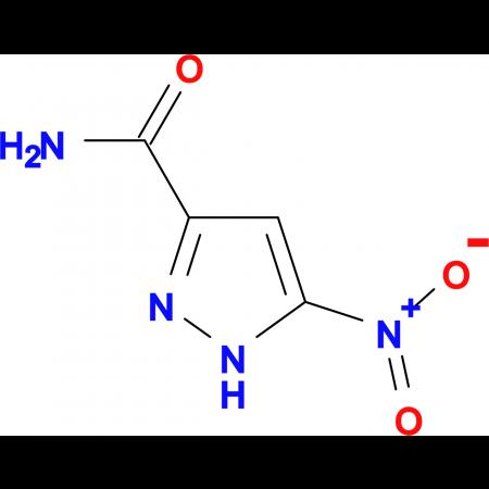 5-nitro-1H-pyrazole-3-carboxamide