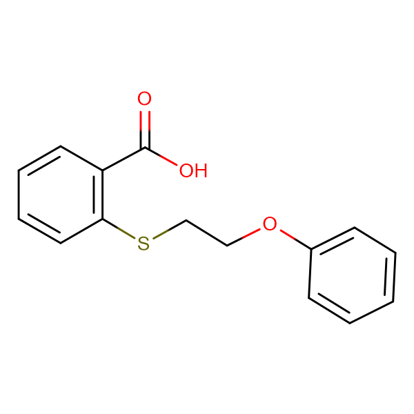 2-[(2-phenoxyethyl)thio]benzoic acid