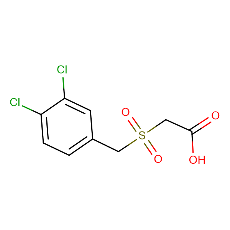 [(3,4-dichlorobenzyl)sulfonyl]acetic acid