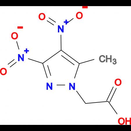 (5-methyl-3,4-dinitro-1H-pyrazol-1-yl)acetic acid