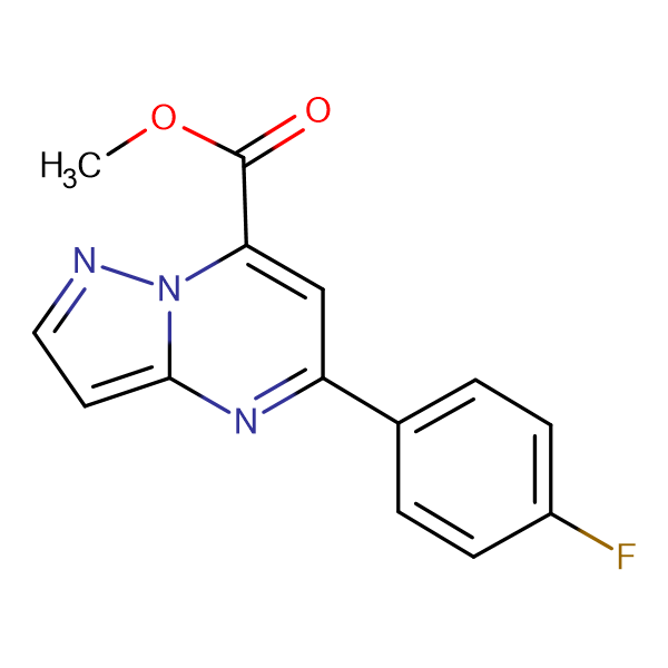 methyl 5-(4-fluorophenyl)pyrazolo[1,5-a]pyrimidine-7-carboxylate