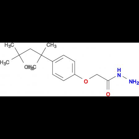 2-[4-(1,1,3,3-tetramethylbutyl)phenoxy]acetohydrazide