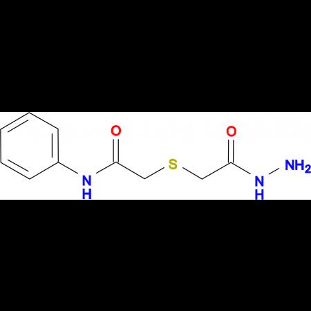 2-[(2-hydrazino-2-oxoethyl)thio]-N-phenylacetamide