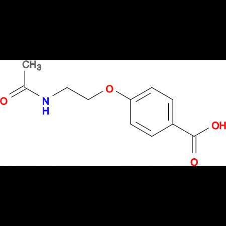 4-[2-(acetylamino)ethoxy]benzoic acid