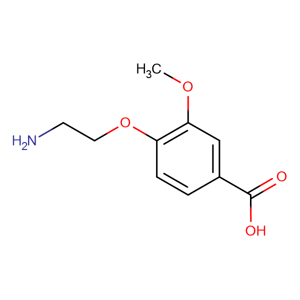 4-(2-aminoethoxy)-3-methoxybenzoic acid