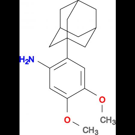 [2-(1-adamantyl)-4,5-dimethoxyphenyl]amine