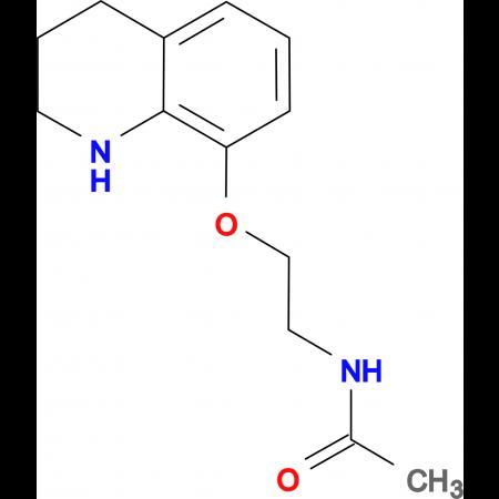 N-[2-(1,2,3,4-tetrahydroquinolin-8-yloxy)ethyl]acetamide
