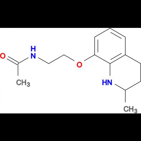 N-{2-[(2-methyl-1,2,3,4-tetrahydroquinolin-8-yl)oxy]ethyl}acetamide