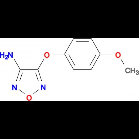 4-(4-methoxyphenoxy)-1,2,5-oxadiazol-3-amine