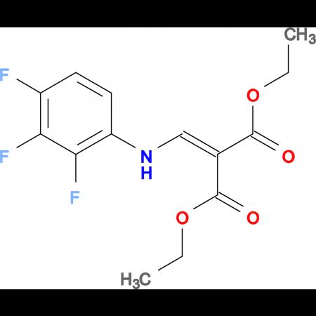 diethyl {[(2,3,4-trifluorophenyl)amino]methylene}malonate