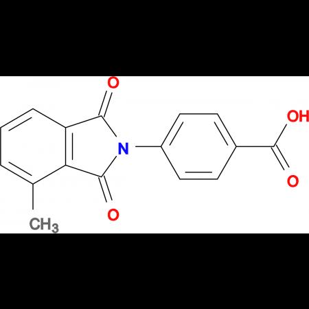 4-(4-methyl-1,3-dioxo-1,3-dihydro-2H-isoindol-2-yl)benzoic acid