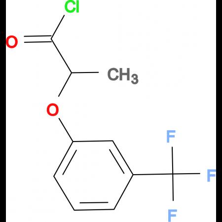 2-[3-(trifluoromethyl)phenoxy]propanoyl chloride