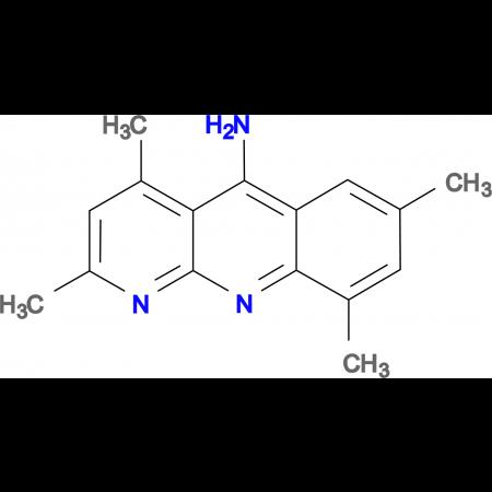 2,4,7,9-tetramethylbenzo[b]-1,8-naphthyridin-5-amine