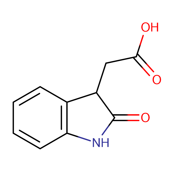 (2-Oxo-2,3-dihydro-1H-indol-3-yl)acetic acid
