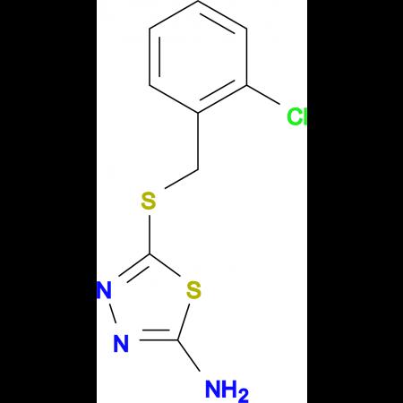 5-[(2-chlorobenzyl)thio]-1,3,4-thiadiazol-2-amine