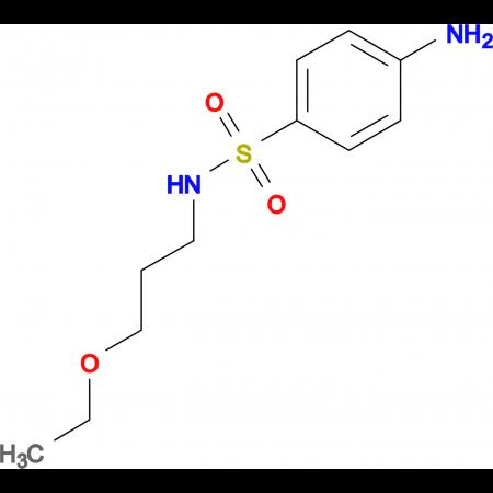4-amino-N-(3-ethoxypropyl)benzenesulfonamide
