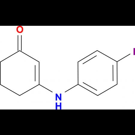 3-[(4-iodophenyl)amino]cyclohex-2-en-1-one