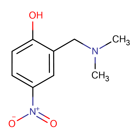 2-[(dimethylamino)methyl]-4-nitrophenol