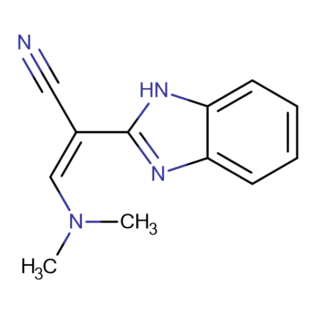 (2Z)-2-(1H-benzimidazol-2-yl)-3-(dimethylamino)acrylonitrile