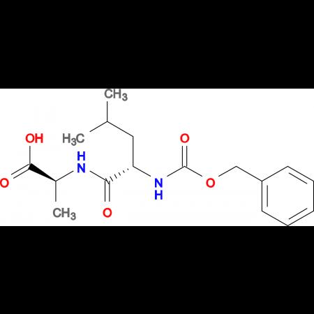 N-[(benzyloxy)carbonyl]-L-leucyl-L-alanine